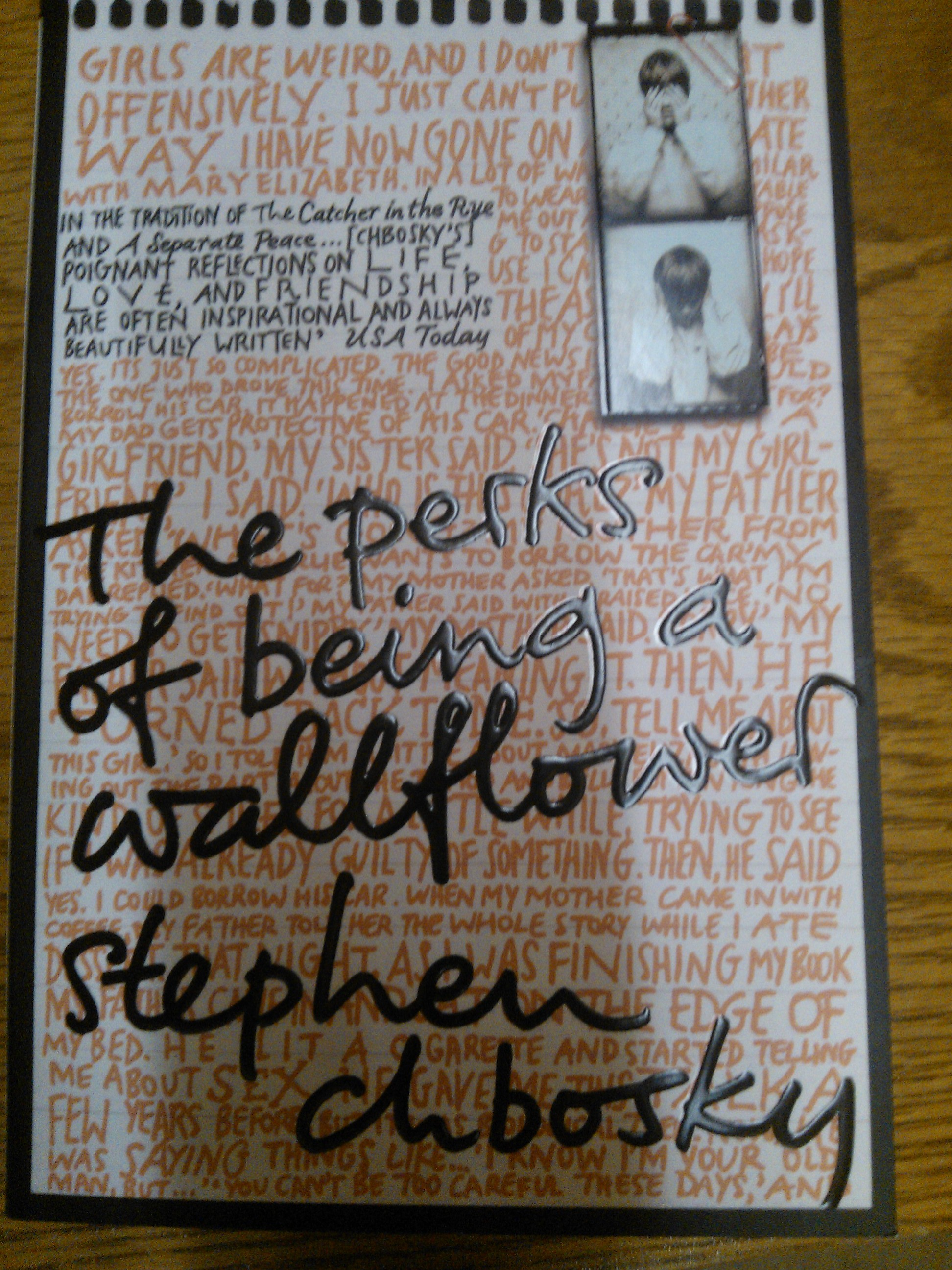 the perks of being a wallflower loneliness The perks of being a wallflower is the coming-of-age story of a lonely, shy, volatile 15-year old called charlie who is both happy and sad and trying to figure out how that could be this is an epistolary novel where the chapters are a series.