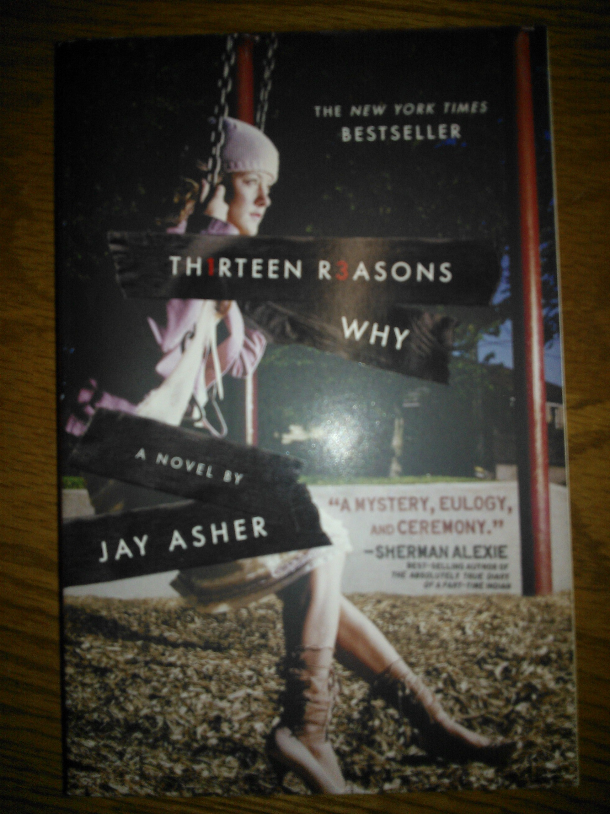 Time to talk about Books: Thirteen Reasons Why by Jay Asher | Le ...