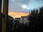 Sky above Vienna...isn't the view form my room awesome?