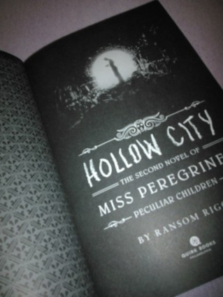 Hollow City - First Page