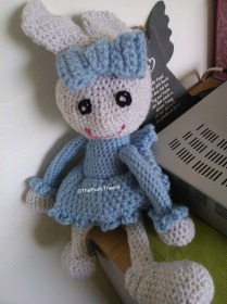 This was my first bunny, it went to my mother.